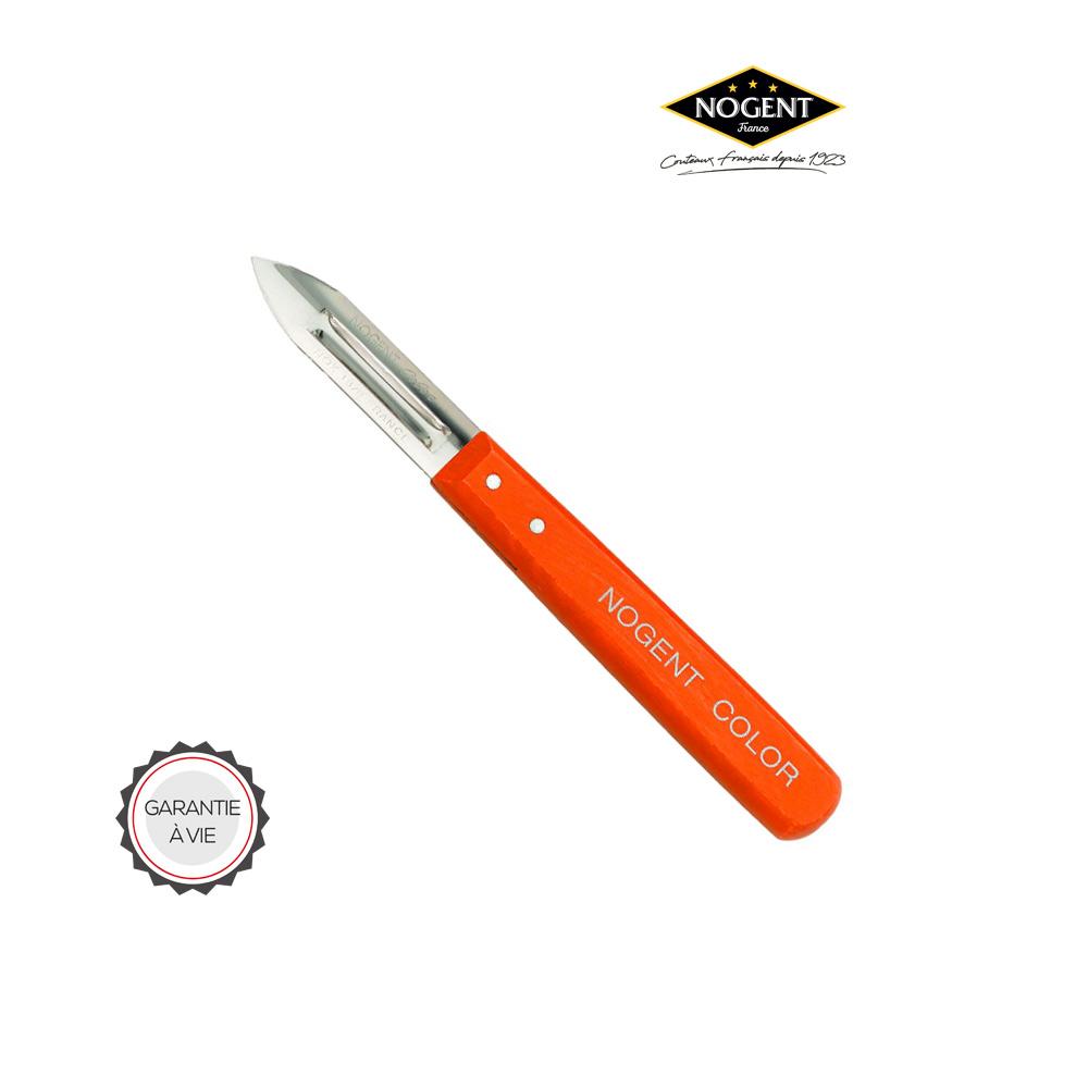 Épluche légumes de couleur orange Nogent***