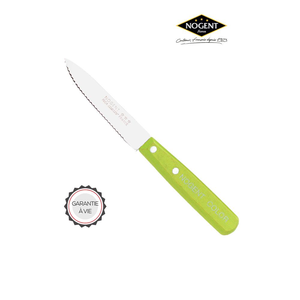 Couteau avec une lame dentée Nogent***