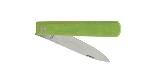 Le couteau pliant vert par Nogent