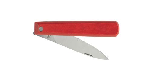 Le couteau pliant rouge !