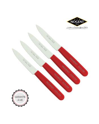 Lot de couteaux color Nogent***