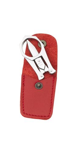 Paire de ciseaux de poche Nogent*** rouge