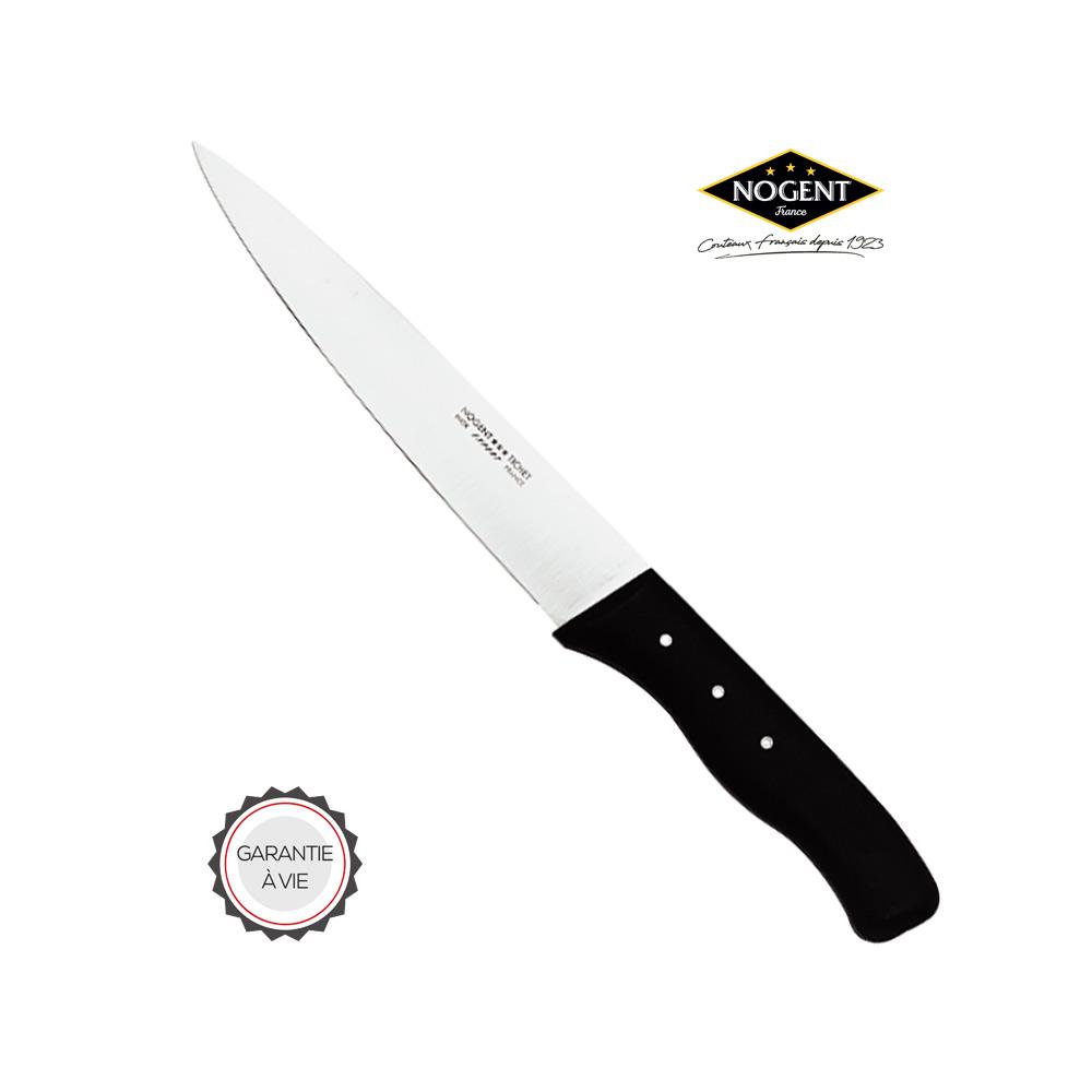 Grand couteau de cuisine Nogent*** Noir