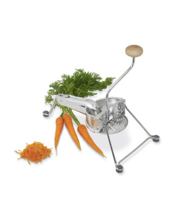 Premium steel vegetable grater sold with three different grids.