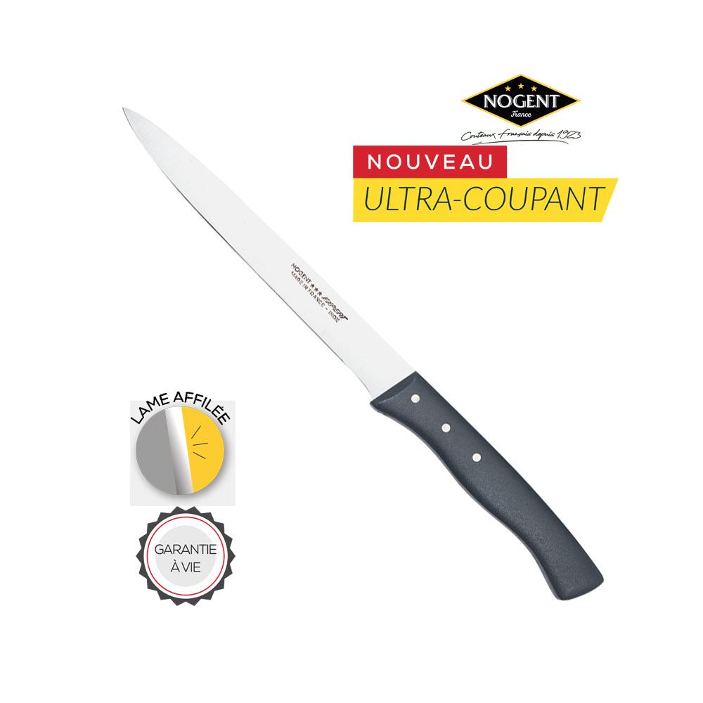 Découvrez le couteau à émincer Nogent***