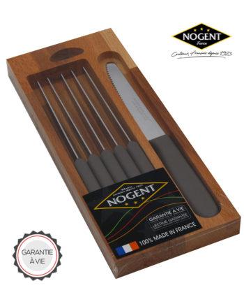 Lot couteaux gris Nogent***