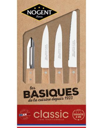 Les couteaux basiques Nogent***