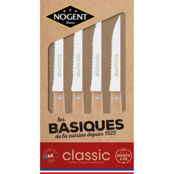 Les couteaux indispensables à une belle table Nogent***
