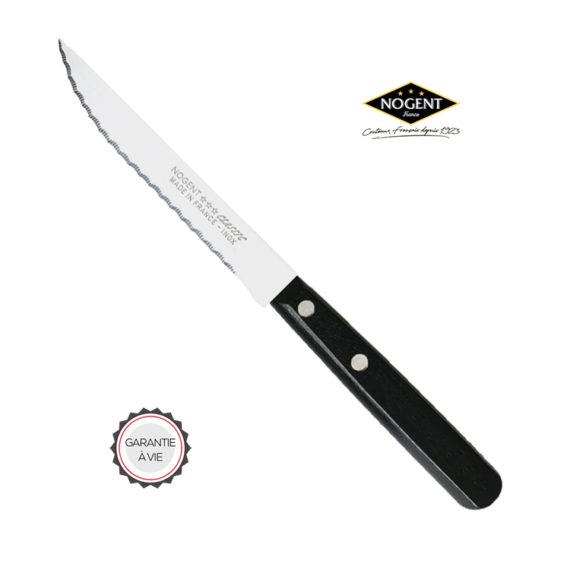 Couteau à viande noir Nogent***