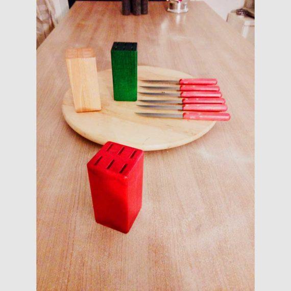 Le bloc de bois rouge Nogent***