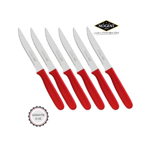 Des couteaux colorés signés Nogent ***