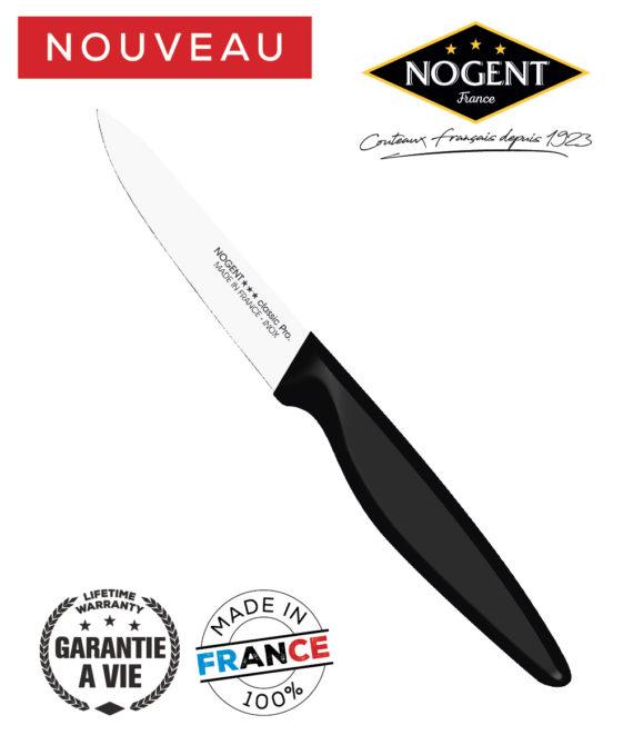 Couteau Office lisse 9cm Nogent classic pro