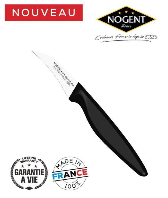 Couteau Office bec oiseau 6.5cm Nogent classic pro