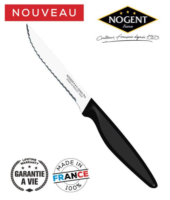 Couteau steak cranté 11cm Nogent classic pro