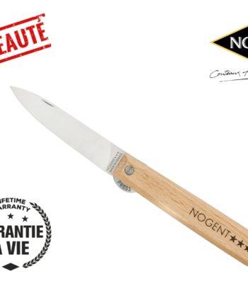 Couteau pliant avec blocage hêtre