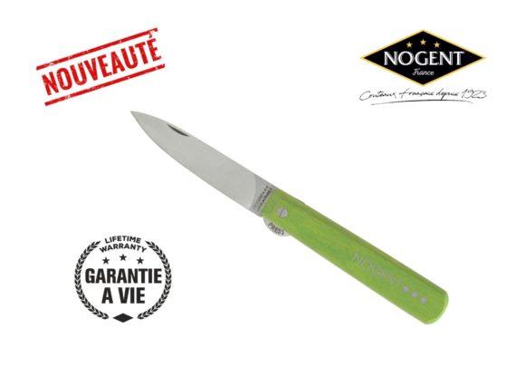 couteau pliant blocage vert